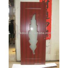 Дверь из ПВХ со стеклом