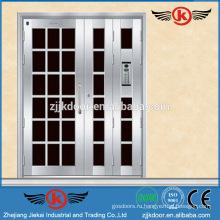 JK-SS9019 декоративная дверь из нержавеющей стали для распашных дверей