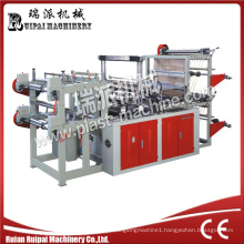 Two Lines Perforating Rolling Bag Making Machine