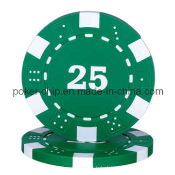 11.5g Dice Chip with Number (SY-D10)