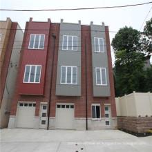 (WL-10) Casas prefabricadas del chalet de acero ligero residencial con el tamaño modificado para requisitos particulares