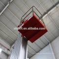 elevador de mastro único de alumínio bonito