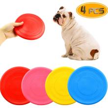 4er Pack Silikon Dog Flying Disc