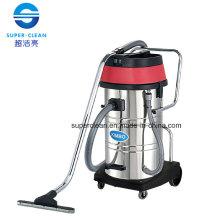 Aspirateur humide et humide en acier inoxydable 80L avec inclinaison