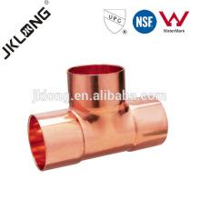 J9009 T cobre do cobre do T do igual