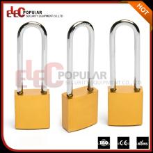 Elecpopular Productos de Venta Caliente 41mm Lock Body Long Shackle Aluminum Padlock