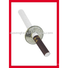 Сигарета пробивает монету