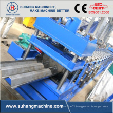 Two-Wave Metal Highway Guardrail Cold Roll Forming Machine