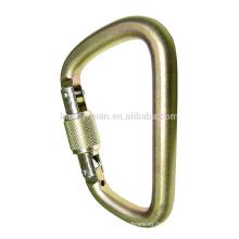 Steel Screw Lock Carabiner