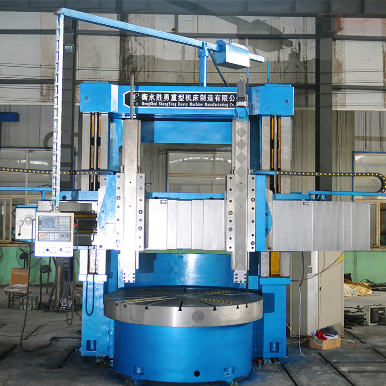 Gantry-type vertical lathe