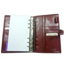 Portefeuille Organisateur Planificateur en cuir (EN-003) / Couverture journalière