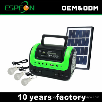 5W 6V small solar system solar energy system kit radio MP3