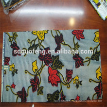Vente chaude populaire tissu imprimé africain de cire