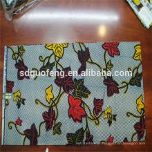 Venda quente popular tecido impresso cera Africano
