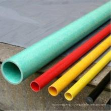 La tige de tuyau ronde Pultruded de fabrication directe d'usine de GRP / FRP profile le profil de FRP