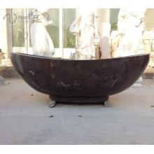 black natural stone bathtub for sale