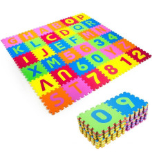 non-toxic eva foam mat kids puzzle floor mats soft educational toy alphabet numbers puzzle crawling infant toddlers