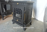 indoor fireplaces cast iron stoves
