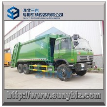 The Cheapest 6X4 Dongfeng 20 M3 Compactor Garbage Truck