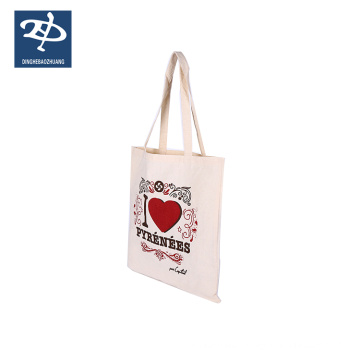 100% cotton grocery shopping vag canvas work tote bags