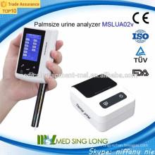 Mini analyseur portable d'urine pour les soins à domicile et les laboratoires (MSLUA02V)