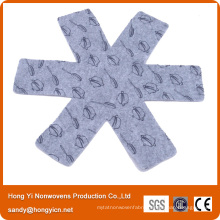 100%Polyester Needle Punched Nonwoven Fabric Pan Mat
