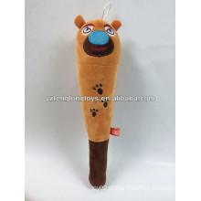 China fábrica pelúcia urso brinquedos massagem vara de massagem