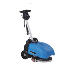 fashion design automatically 13 inch brush floor scrubber washing machine for warehouse factory cement tile hard soft floor