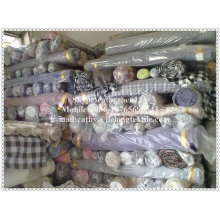 прокладка и проверка покрашенная пряжей ткань