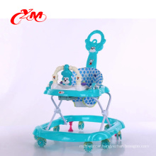 new model baby walker multifunction/inflatable rings baby walker/360 degree rotating baby walker 8 swivel wheels