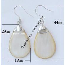 Gets.com Messing Wassertropfen Kristall Perlen