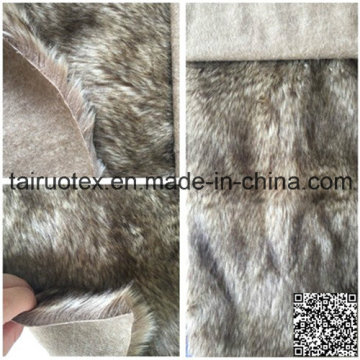 Imitation Wool Faux Fur for Lady Coat Warm Winter Jacke