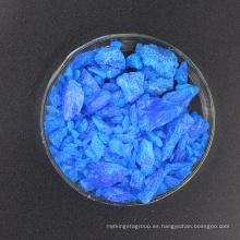 Sulfato de cobre certificado SGS 98% para galvanoplastia y la industria farmacéutica