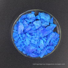SGS Certified Copper Sulfate 98% for electroplating & pharmaceutical industry