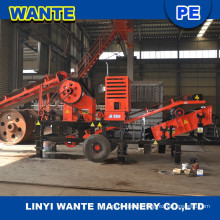 Mini Portable Diesel Engine Jaw Crusher for Crushing Mineral Stone,Iron Ore