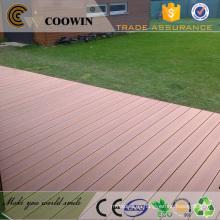 Revestimiento de plástico de madera WPC impermeable y resistente al sol