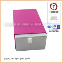 Nueva caja de embalaje de cartón de regalo de diseño con logotipo