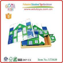 Wooden Puzzle Spielzeug Holz Druck Block