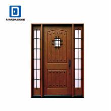Фанда загородном стеклоткани блок двери Prehung с speakeasy и Clavos