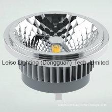 15W CREE Chip COB LED AR111 com perfeito efeito de luz halógena