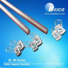 Manufacture Hot Dip Galvanized Steel Electrical Threaded Rod