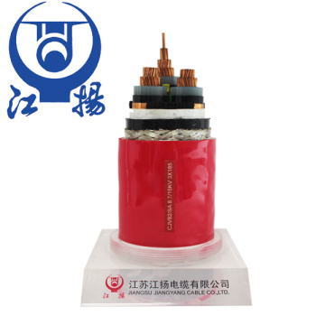 Câble d'alimentation marin moyenne tension