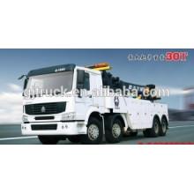 RHD Sinotruk HOWO camión de auxilio / Road Tow vehículo / camión de auxilio / Tow Truck / tow wrecker / HOWO Wrecker