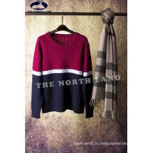 Кашемир Мужская мода вязаный свитер