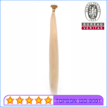 613# Blomd Color Straight Wave 100% Human Virgin Hair I Tip Hair Extensions Remy Hair