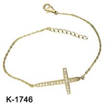 Pulseira de prata esterlina 925 colorido CZ (K-1746. JPG)