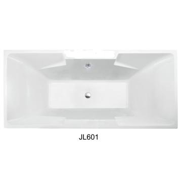 Прямоугольная крытая капля в акриловой ванне