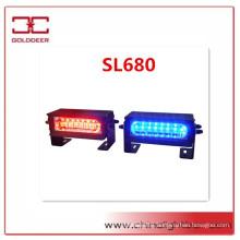 1W High Quality Traffic Signal Light Linear 8 LED Dash/Deck Light(SL680)