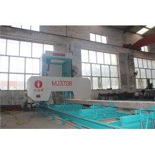 cnc horizontal saw mill for lumber cutting