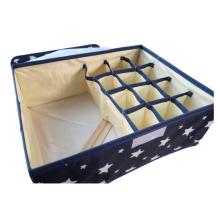 Aufbewahrungsboxen aus Oxford-Stoff mit Deckel
